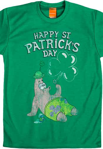 St. Patrick's Day SpongeBob T-Shirt
