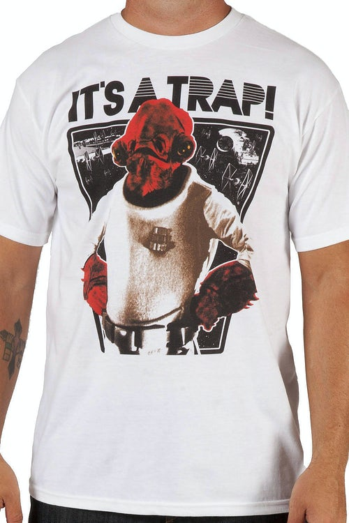 Star Wars Admiral Ackbar Trap Shirt