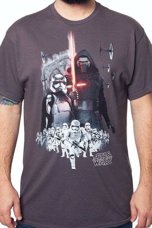 finest selection 2ebdb 6612a Force Awakens First Order Army T-Shirt  Star Wars Mens T-Shirt