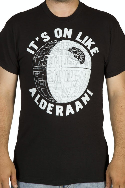 Star Wars On Like Alderaan Shirt