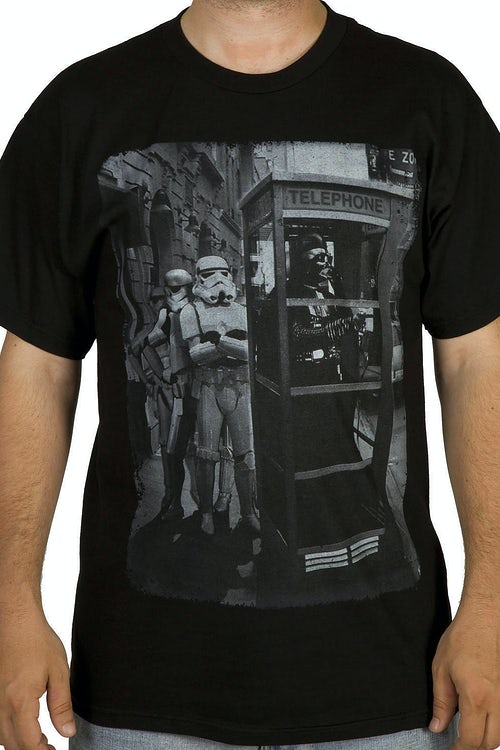 Star Wars Payphone Darth Vader Shirt