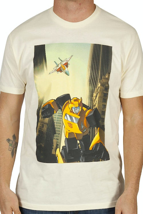 Starscream vs Bumblebee Shirt