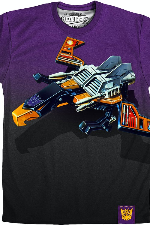 Sublimated Buzzsaw Transformers Shirt