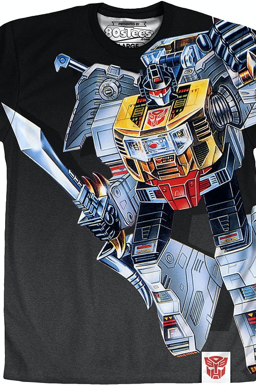 Sublimated Robot Mode Grimlock Transformers Shirt