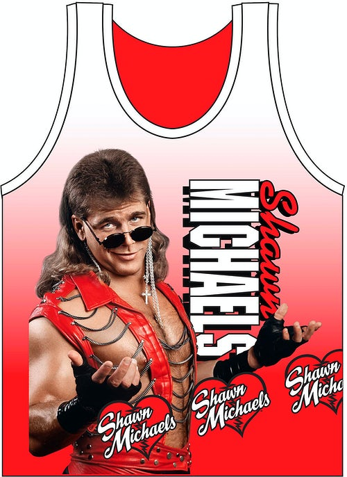Sublimated Shawn Michaels Tank Top
