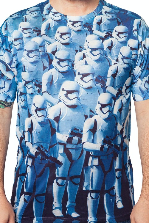 Sublimation Force Awakens First Order Storm Troopers T-Shirt