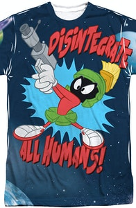Sublimation Marvin the Martian Looney Tunes Shirt