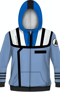 Roy Fokker Robotech Costume Hoodie
