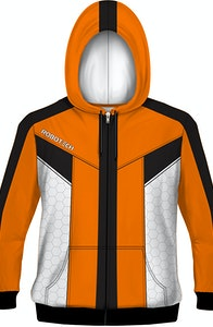 Sublimation Test Pilot Robotech Costume Hoodie