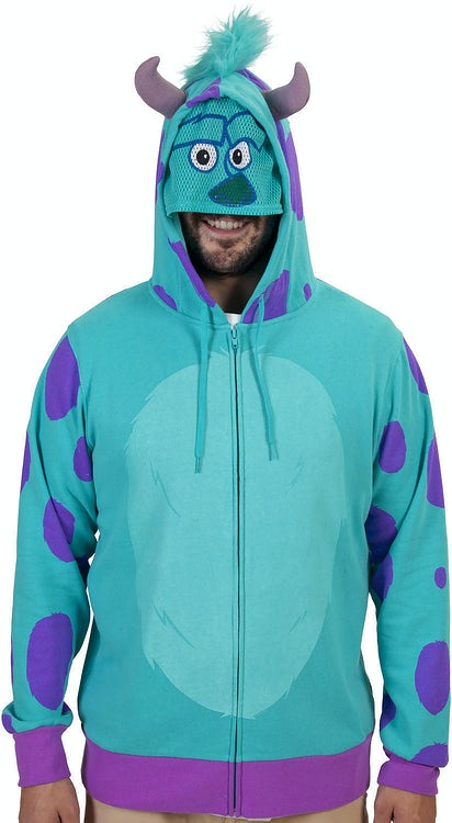 Sulley Costume Hoodie