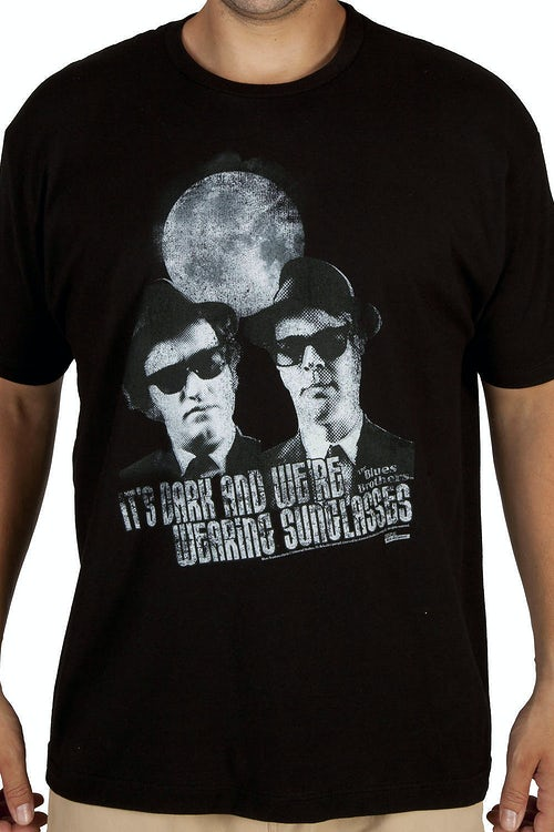 Sunglasses At Night Blues Brothers Shirt