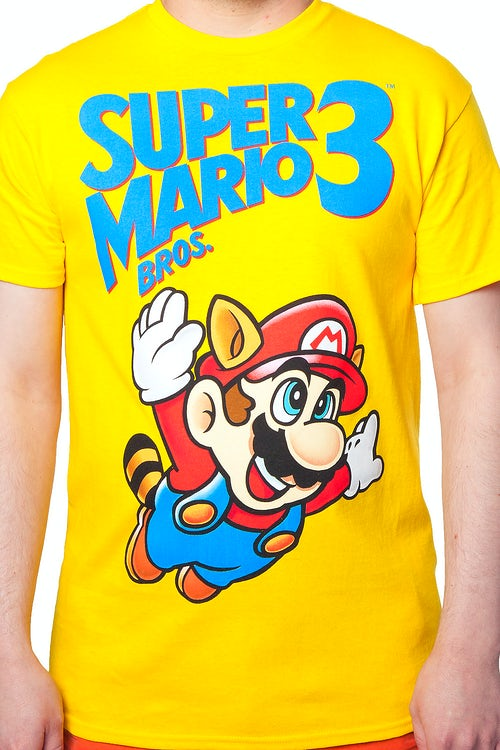 f04494a78 Super Mario Bros 3 Shirt: Video Game Nintendo Super Mario Bros T-shirt