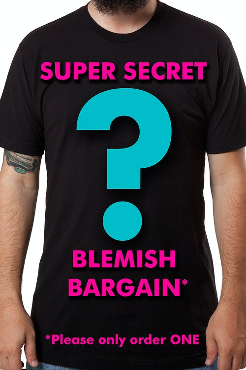 Super Secret Blemish Bargain