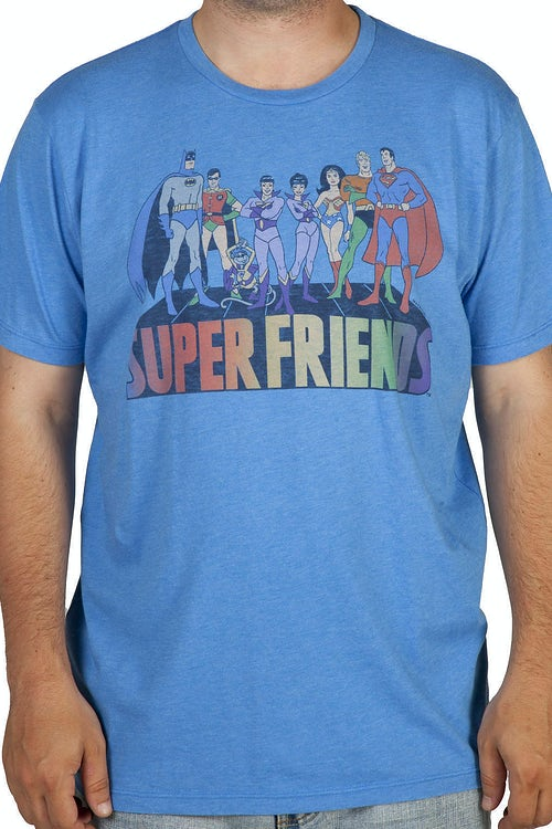 Superfriends Shirt by Junk Food