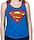 Supergirl Womens Tank Top