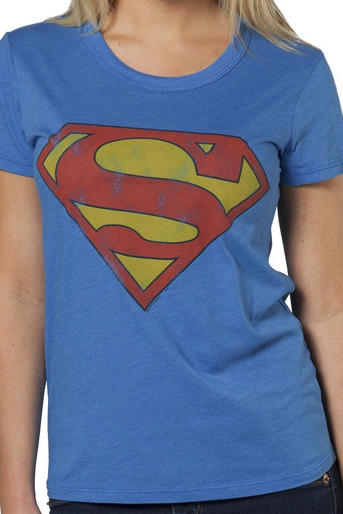 Superman Babydoll Shirt by Junk Food