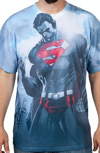 Superman Sublimation Shirt