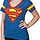 Superman V-Neck Shirt