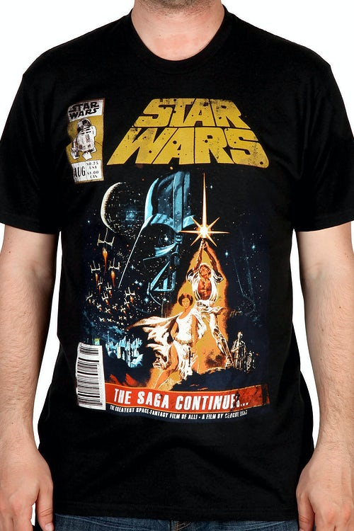 The Saga Continues Star Wars Shirt