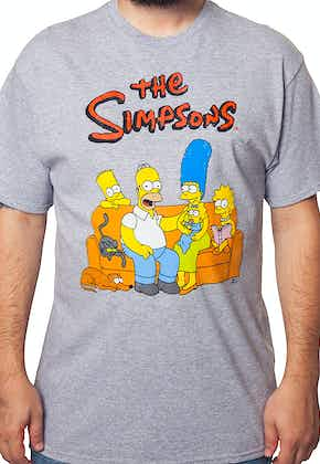 The Simpsons Family Portrait T-Shirt