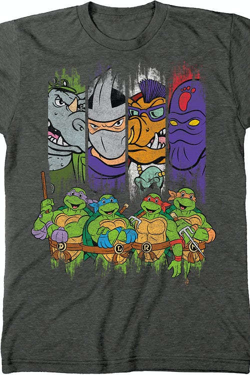 TMNT Villains and Heroes T-Shirt