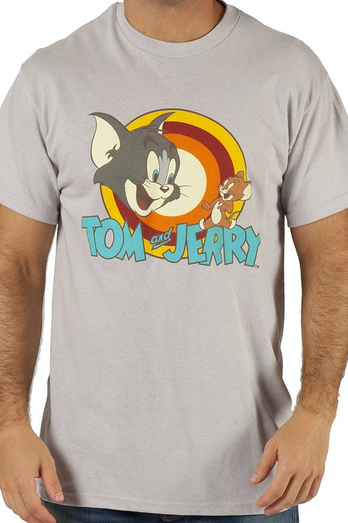 Tom and Jerry Logo T-Shirt