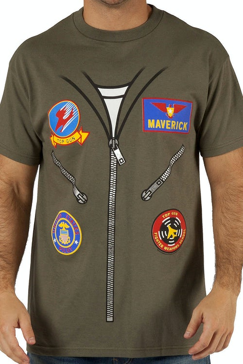 Top Gun Flight Suit Shirt