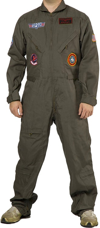 Top Gun Iceman Costume