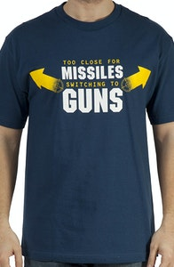 Top Gun Missiles To Guns T-Shirt