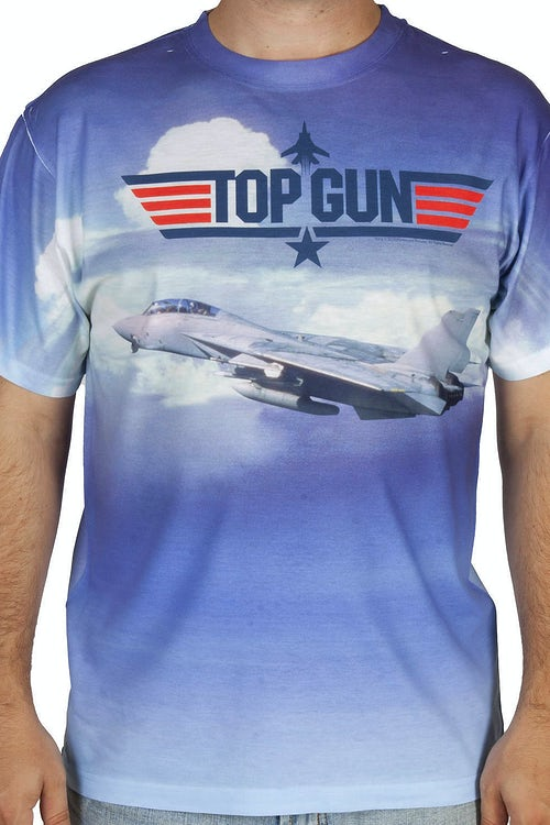 Top Gun Sublimation Shirt