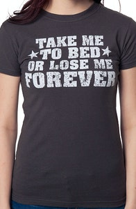Top Gun Take Me To Bed T-Shirt