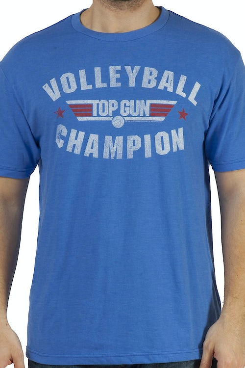 Top Gun Volleyball Champ Shirt