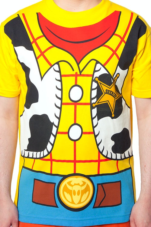 c303fee2 Toy Story Woody Costume T-Shirt: Toy Story Mens T-Shirt