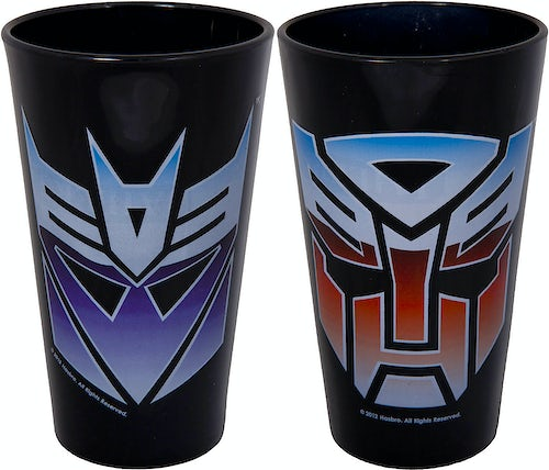 Transformer Pint Glass Set