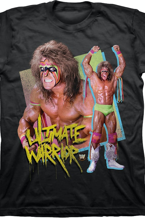 Ultimate Warrior Victory Pose T-Shirt