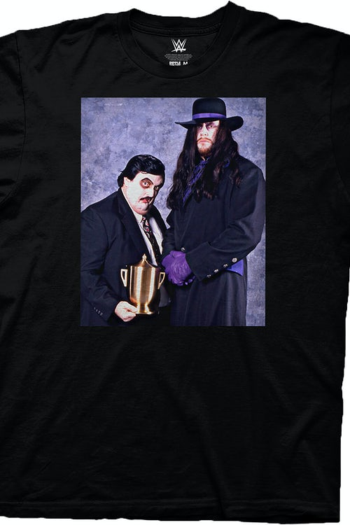 Undertaker and Paul Bearer T-Shirt