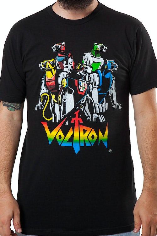 aa0fe7344 Voltron Lions T-Shirt: 80s Cartoons Voltron T-shirt
