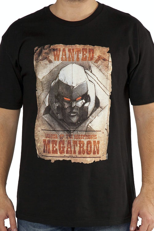Wanted Poster Megatron Shirt
