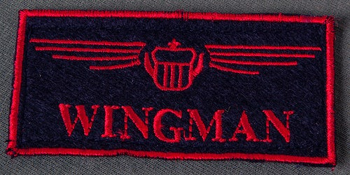 Wingman Call Name Patch