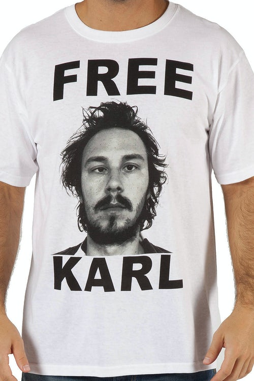 Workaholics Free Karl Shirt