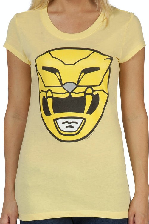 Yellow Ranger Helmet Shirt