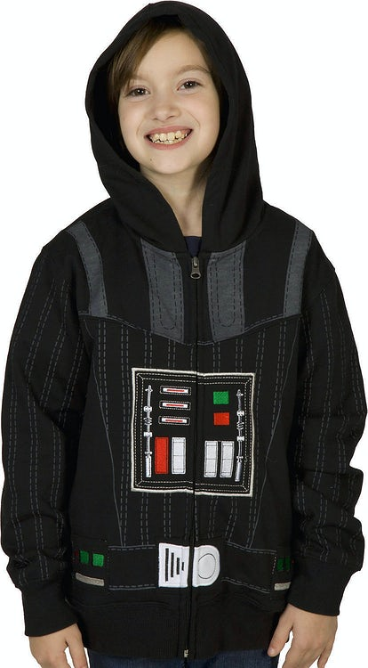 Youth Darth Vader Costume Hoodie
