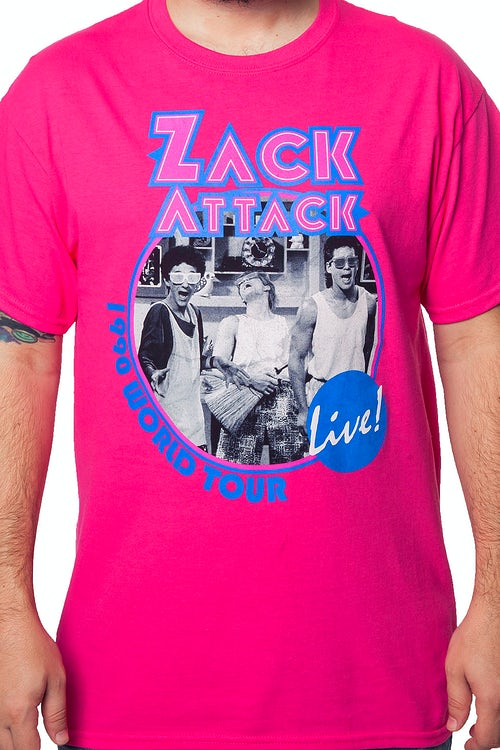 Zack Attack World Tour T-Shirt