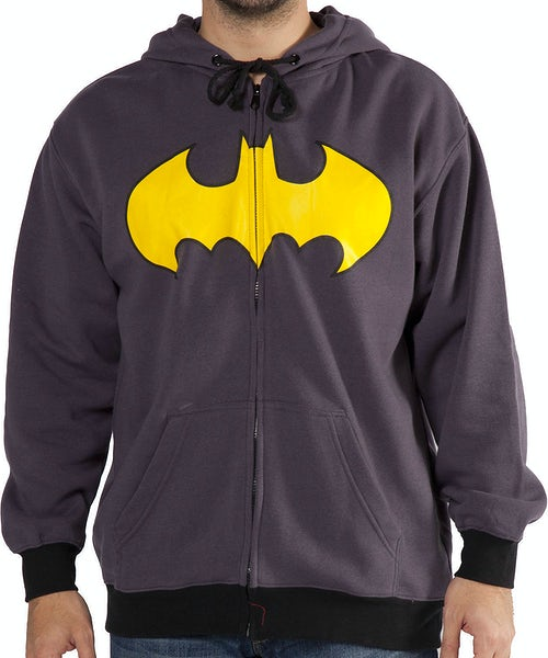 Zip Up Batman Hoodie
