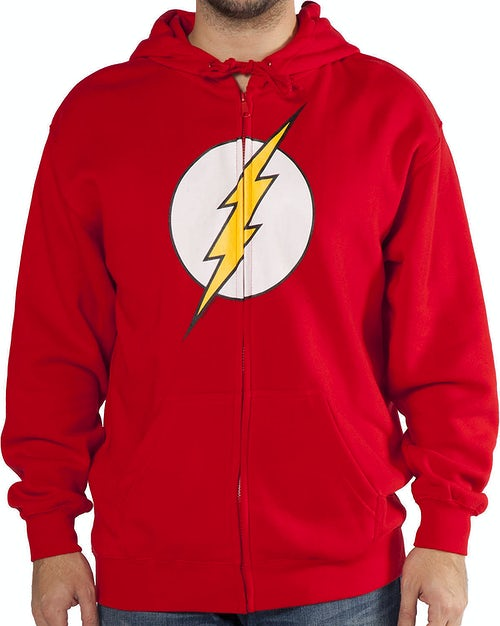 Zip-Up Flash Hoodie
