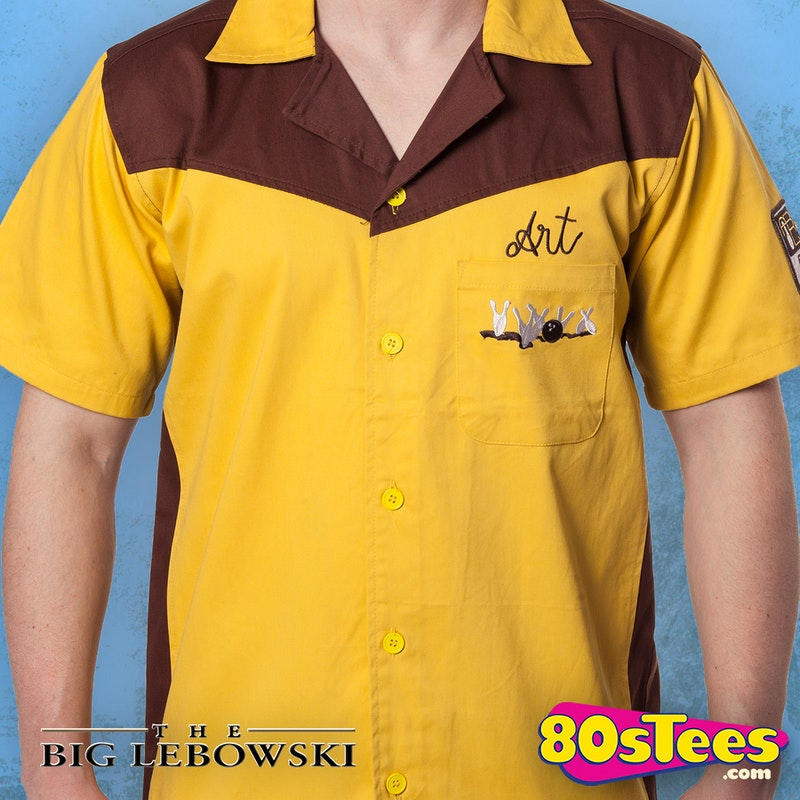 Authentic Replica Big Lebowski Bowling Shirt  Medina Sod Art s Shirt c57bbe2ef