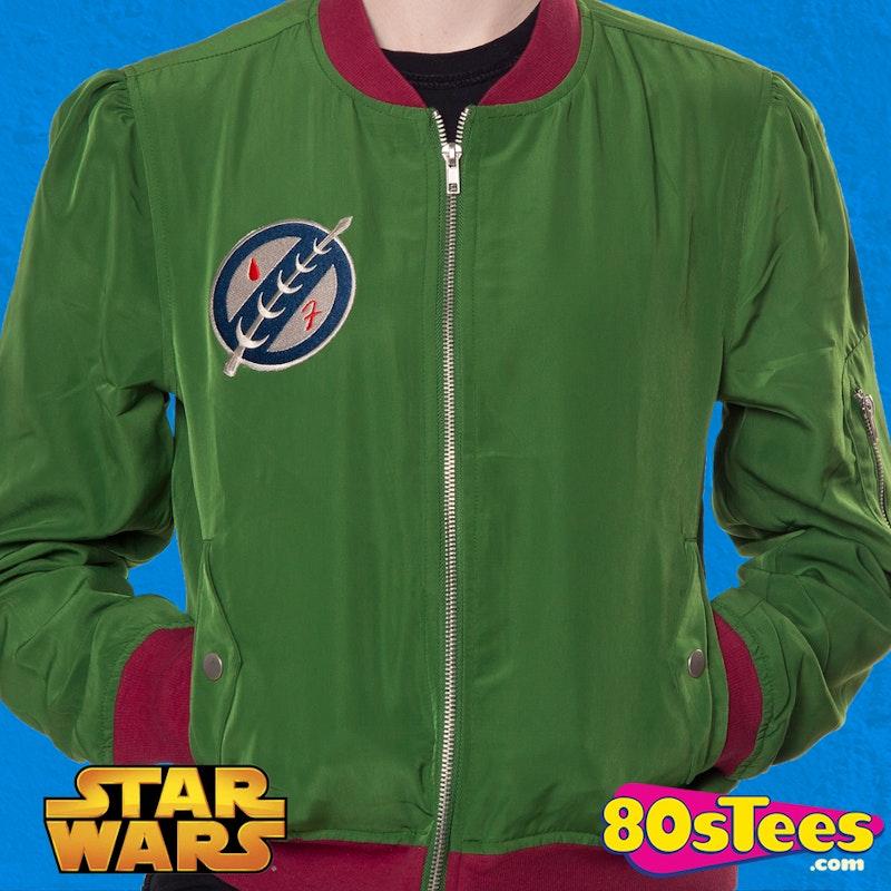751d7311f Ladies Boba Fett Bomber Jacket