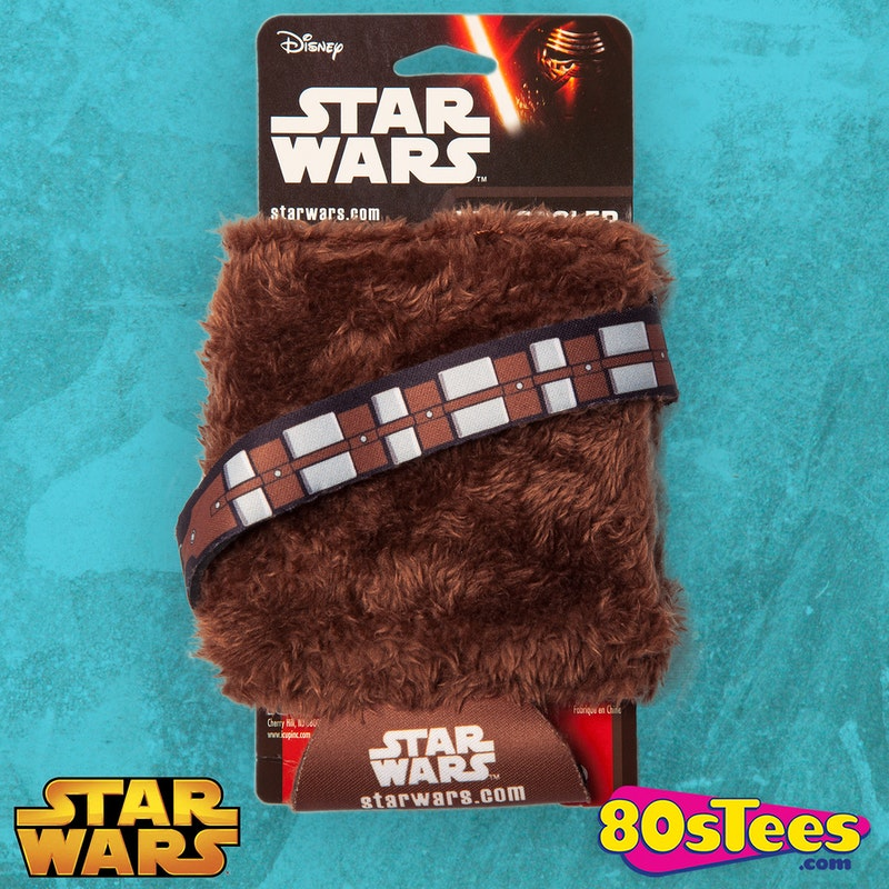 Chewbacca Faux Fur Can Coozy Star Wars Can Coozy