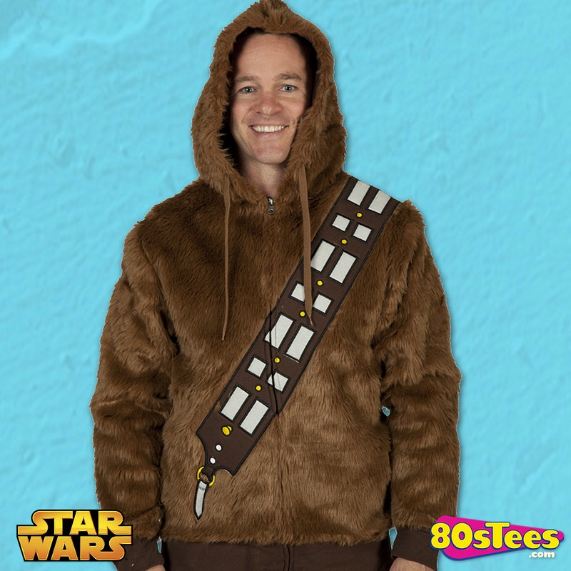 Chewbacca Fur Hoodie S Movies Star Wars Chewbacca Hoodies - Hoodie will turn you into chewbacca from star wars