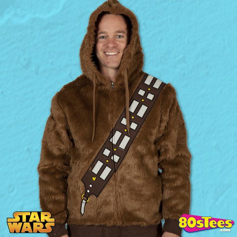 Chewbacca Fur Hoodie S Movies Star Wars Chewbacca Hoodies - Hoodie will turn you into chewbacca from star wars